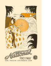 1916 National Highway Twelve Folder