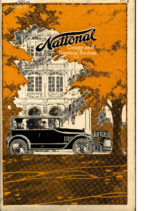 1917 National Coupe and Touring Sedan