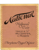 1918 National Highway Cars