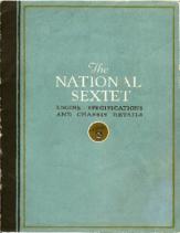 1920 National Sextet Specs
