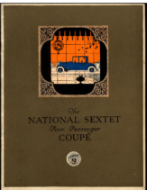 1920 The NATIONAL SEXTET Four Passenger Coupe