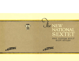 1920 The New National Sextet