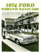 1974 Ford Torino Taxicabs Foldout