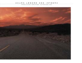1986 Acura Legend & Integra