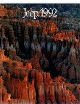 1992 Jeep Full Line