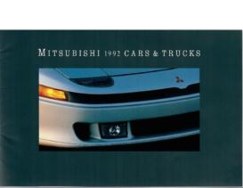 1992 Mitsubishi Full Line