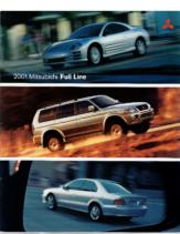 2001 Mitsubishi Full Line
