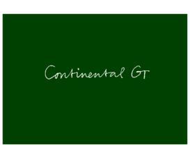 2012 Bentley Continental GT V2