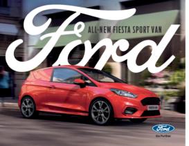 2019 Ford Fiesta Van UK
