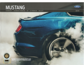 2019 Ford Mustang Print Edition