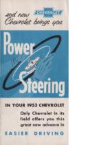 1953 Chevrolet Power Steering
