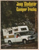 1966 Jeep Gladiator Camper Trucks