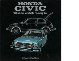 1975 Honda Civic Sedan & Hatchback