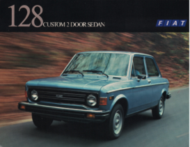 1977 Fiat 128 Custom 2-Door Sedan