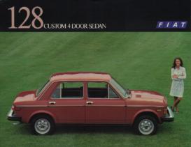 1977 Fiat 128 Custom 4 Door Sedan