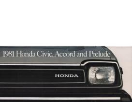 1981 Honda Full Line