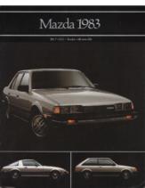 1983 Mazda Full Line