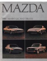1984 Mazda Full Line