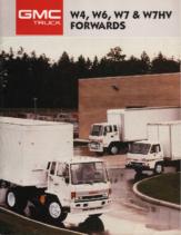 1987 GMC W4 W6 W7 Forwards