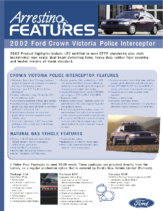 2002 Ford Police Flyer