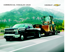 2020 Chevrolet Commercial Vehicles