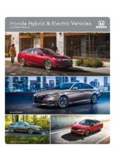 2020 Honda Hybrid Electric Vehicles V2