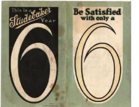 1920 Studebaker Light Six Folder