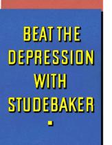 1933 Studebaker Dealer Franchise Folder