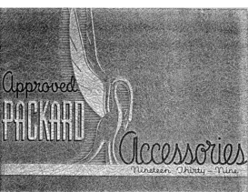 1939 Packard Accessories