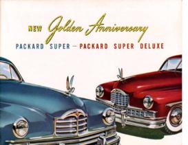 1949 Packard Super-Super Deluxe Foldout