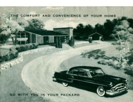 1954 Packard Accessories Foldout