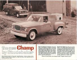 1961 Studebaker Champ Trucks Specs