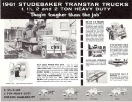 1961 Studebaker Transtar Trucks Specs