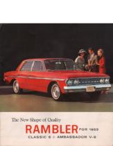 1963 AMC Rambler Classic 6 and Ambassador V8