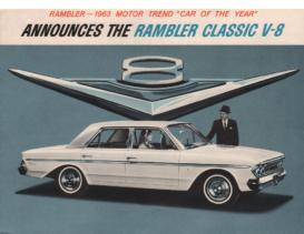 1963 AMC Rambler Classic V8