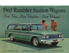 1963 AMC Rambler Station Wagons