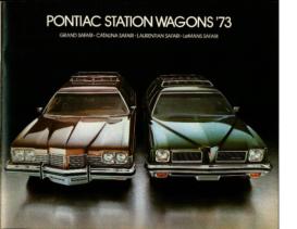 1973 Pontiac Station Wagons CN