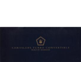 1987 Chrysler TC