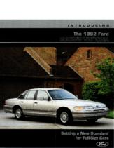 1992 Ford Crown Victoria Intro