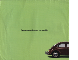 1998 VW Beetle Poster