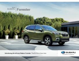 2019 Subaru Forester Intro