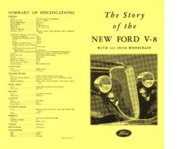1933 Ford V8 Story