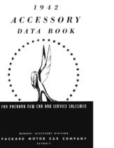 1942 Packard Accessories Data Book