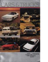 1986 Toyota Full Line