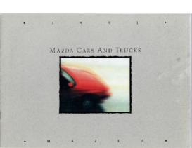 1991 Mazda Full Line