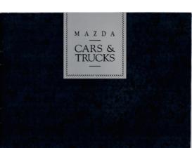 1992 Mazda Full Line