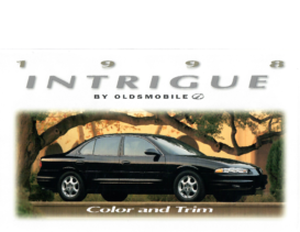 1998 Oldsmobile Intrigue Colors