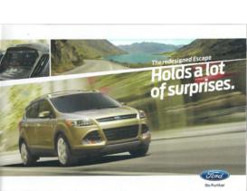 2013 Ford Escape Intro