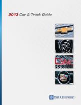 2013 GM Car & Truck Guide
