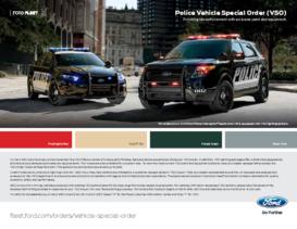 2015 Police Interceptor VSO